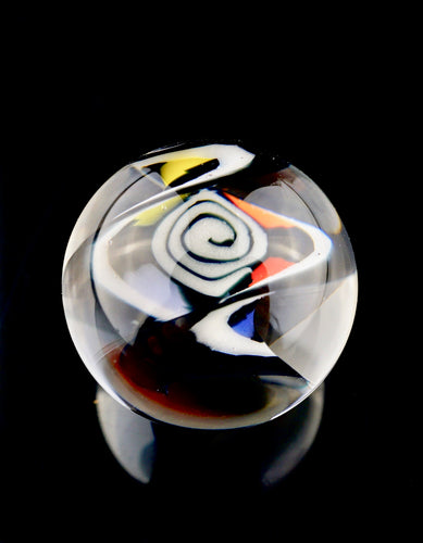 BMFT Spiral and Rainbow Twisted Milli Marbles (Small & Large sizes available)