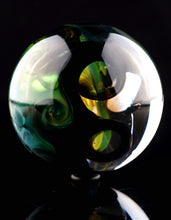 Aaron Slater Fume Implosion Vortex Marble with Opal