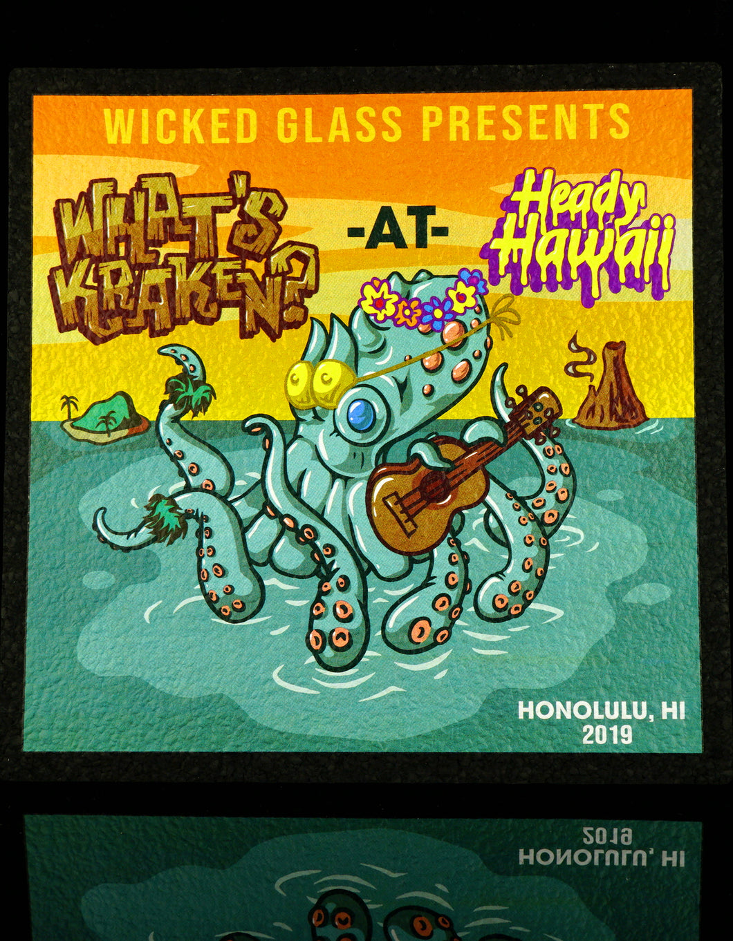 What's Kraken Hawai'i Large Square Moodmats