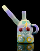 Ethan Windy & Patty D Glass Cherry Tea Pot Rig + Cup Set