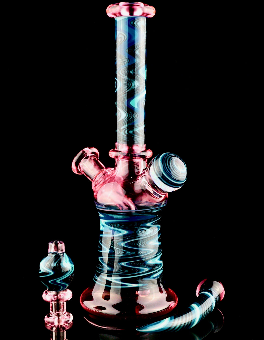 Blueberry Serum and Opal Banger Hanger + Bubble Cap + Dabber Set
