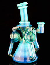 ID Glass Meta-Terrania Faceted Troika Spinner