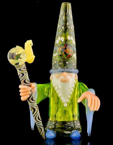 Phil Siegel & Crunklestein Koki Frog Wizard + Removable Staff