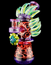 Pinky Brewtz & JD Maplesden Peyote Jaguar Dichro Headdress Wormhole + Spinner Cap