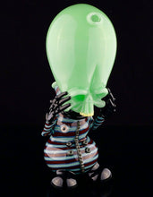 Hendy Mint Invader with Linework Suit with Steve H Rainbow Milli