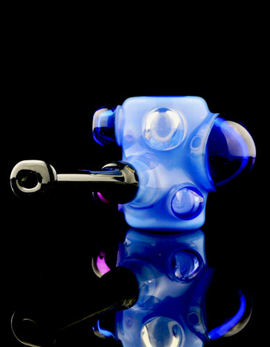 Scomo Mini Blue Poker Bubbell Pipe