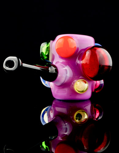 Scomo Mini Rainbow Poker Bubbell Pipe