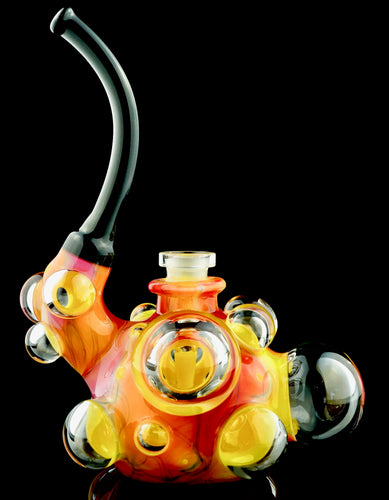 Scomo Canary UV Scribble Bubbubbler