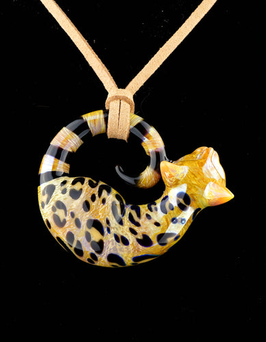 Spiller Woods Bengal Kitty Pendant