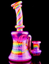 Djack Telemagenta and Rainbow Drop Down Tube
