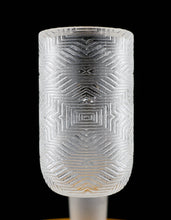 Long Island Quartz Aztec Etched Bangers with Display Case