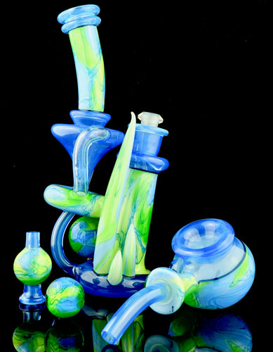 Scomo & Crux UV Scribble Rebubbler Set