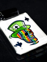 Kevin Murray & Grampa Facets Rainbow Skull Pendant with UV Eyes