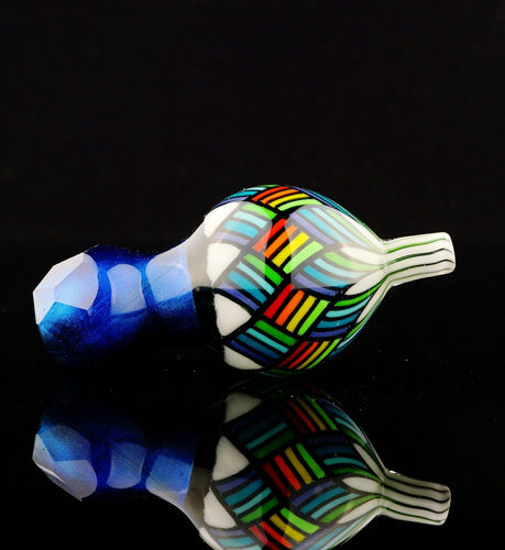 Kevin Murray & Grampa Facets Electric Blue Velvet Bubble Cap