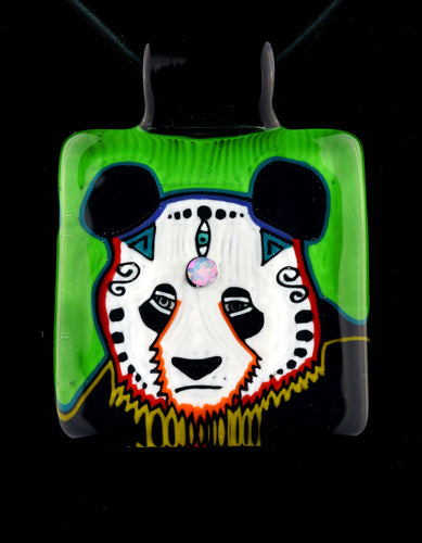 Kevin Murray Third Eye Panda Pendant