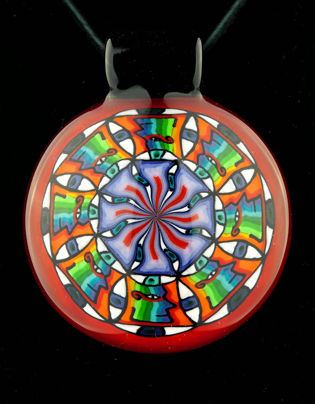 Kevin Murray UV Face Mandala Pendant