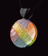 Organix Glassworks Merletto Quilt Pendant with CFL Accent