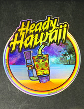 Official Heady Hawaii Hologram Stickers (Pack of 5)