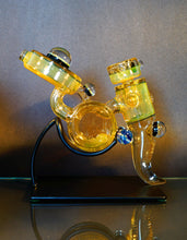 IO Glass & Whitney Harmon UV and CFL Reactive Disclock Bubbler