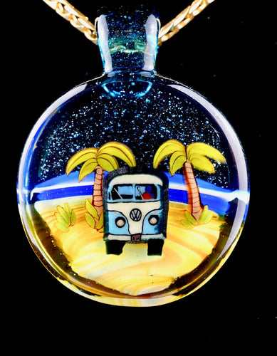Middleton Glassworks Daytime Kombi Beach Pendant + Display Box