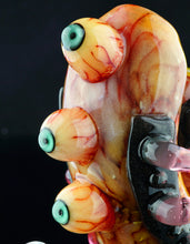 Joe Peters & Aquarius Droid Honeycomb Gory Skull with Serum Accents