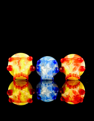 Scomo & Rone UV Skull Bubble Caps