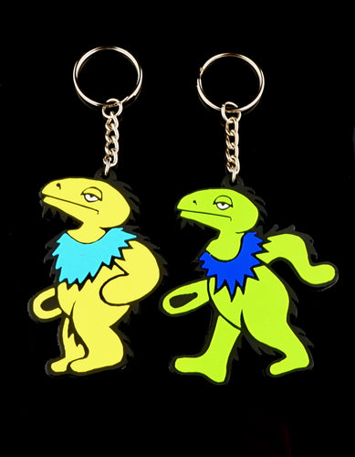 Elbo Dancing Dino Keychains