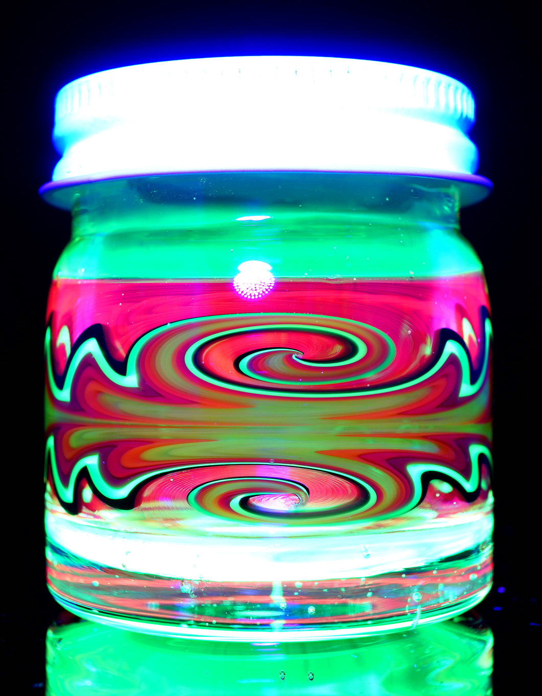 Empty1 UV Double Wigwag Baller Jars