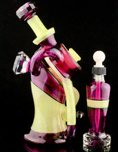 Keelo & Stephan Peirce Gold Amethyst and Dichro Antidote Gizmocycler + Tincture Bottle Set