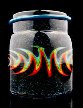Empty1 Mint Crushed Opal Rainbow Wigwag Baller Jars