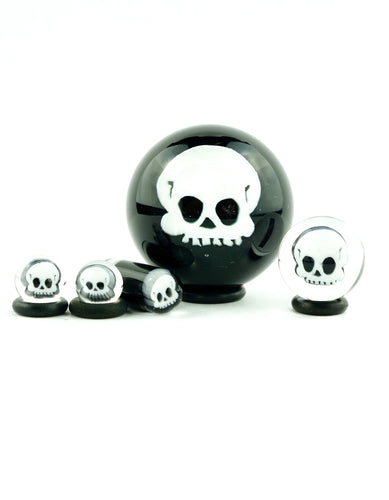 Hendy Black and White Skull Milli Slurper Set