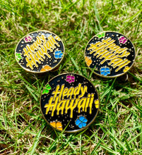 Heady Hawaii Gold Pins