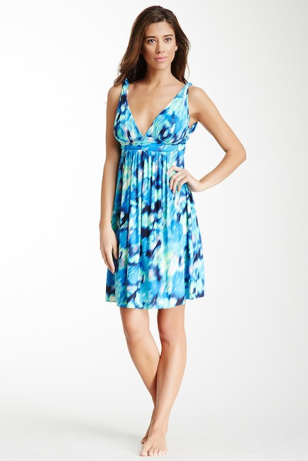 Carmen Marc Valvo Malawi Floral-Print Coverup Dress - Realforlesscorp