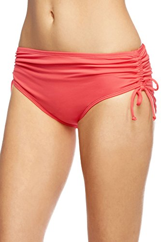 Beach House Women's Shirred High Waist Bikini Bottom - Realforlesscorp