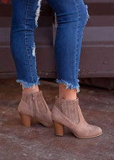 AINSLEY ANKLE BOOTIE - Realforlesscorp