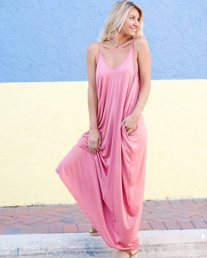 Hottest Indie Pocket Maxi Dress - Realforlesscorp