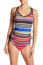 JAG Jeans Reactive Stripe Tankini - D/DD - Realforlesscorp