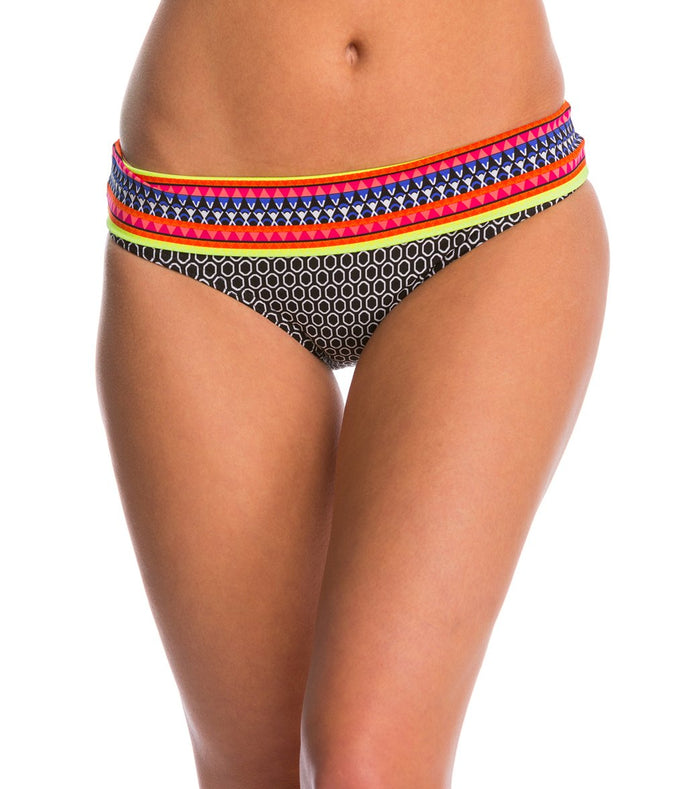 Jag Swimwear Chromatic Geo Retro Bikini Bottom - Realforlesscorp