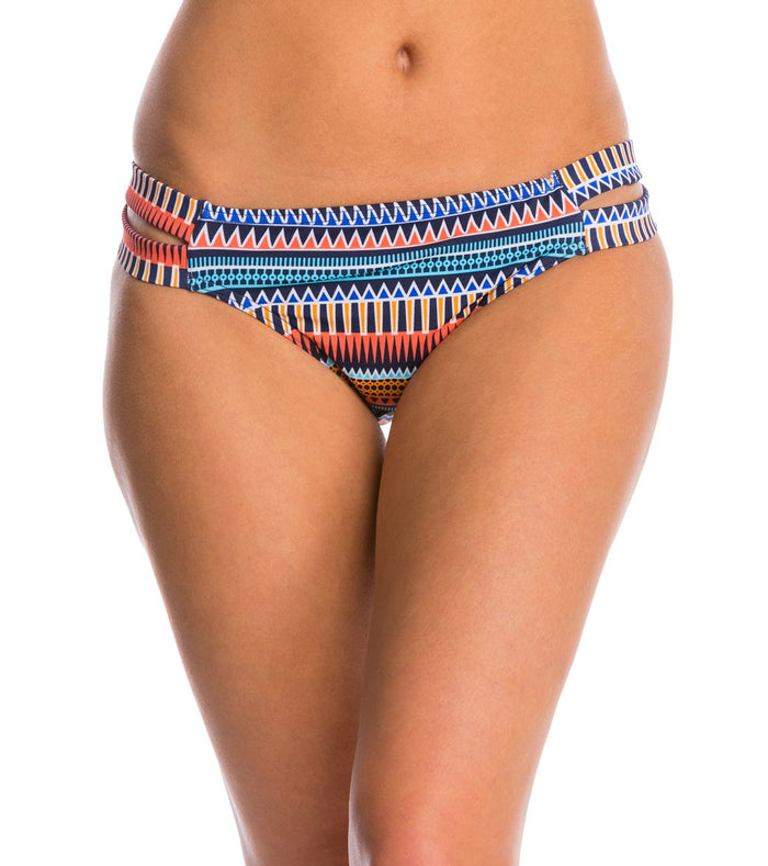 Jag Swimwear Tribal Essence Strappy Side Retro Bikini Bottom - Realforlesscorp