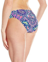 Kenneth Cole Reaction Women's Bohemian Spirit Sash Tab Pant Swim Bottom - Realforlesscorp
