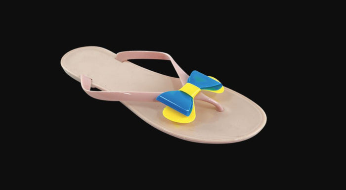 SURF7 Silicone Bow Flip-Flop - Realforlesscorp