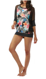 Coco Reef Women's Floral Chiffon-Combo Cover-Up - Realforlesscorp