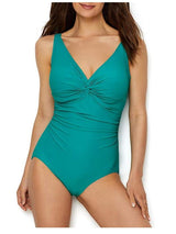 Coco Reef Perfection Fit Twist Bra Sized Underwire One Piece Swimsuit - Realforlesscorp