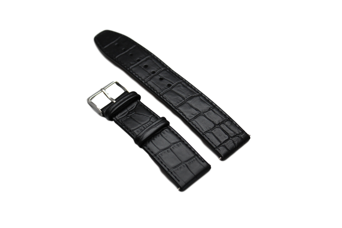 Generic Replacement Watch Strap-Jacques Lemans Logo- Alligator Print 22mm Width Choice of Color - Realforlesscorp
