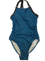Amoena- One piece swimsuit- Polka dots- size 8 - Realforlesscorp