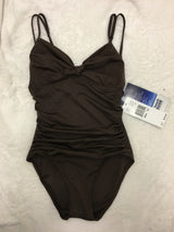 BEACH HOUSE TIE FRONT MAILLOT - Realforlesscorp