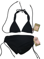 Juicy Couture Bikini set Twist Halter straps Y62835 - Medium - Realforlesscorp