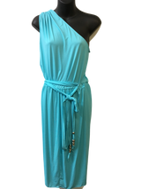 Carmen Marc Volvo - Turquoise OR Black cover up -SIZES - Realforlesscorp