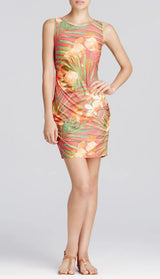 Carmen Marc Valvo Tropical Fantasy Beach Dress Cover Up - Realforlesscorp