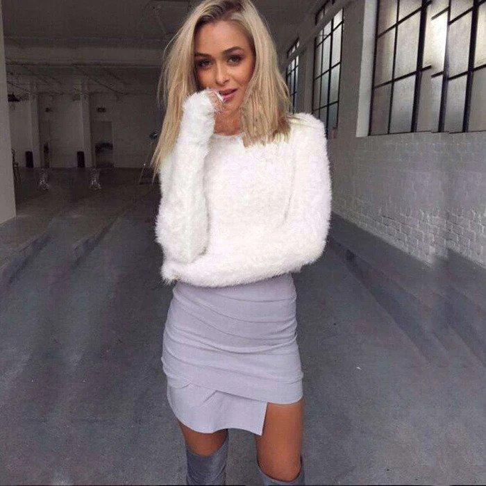 Harlow Knitted Sweater - Realforlesscorp